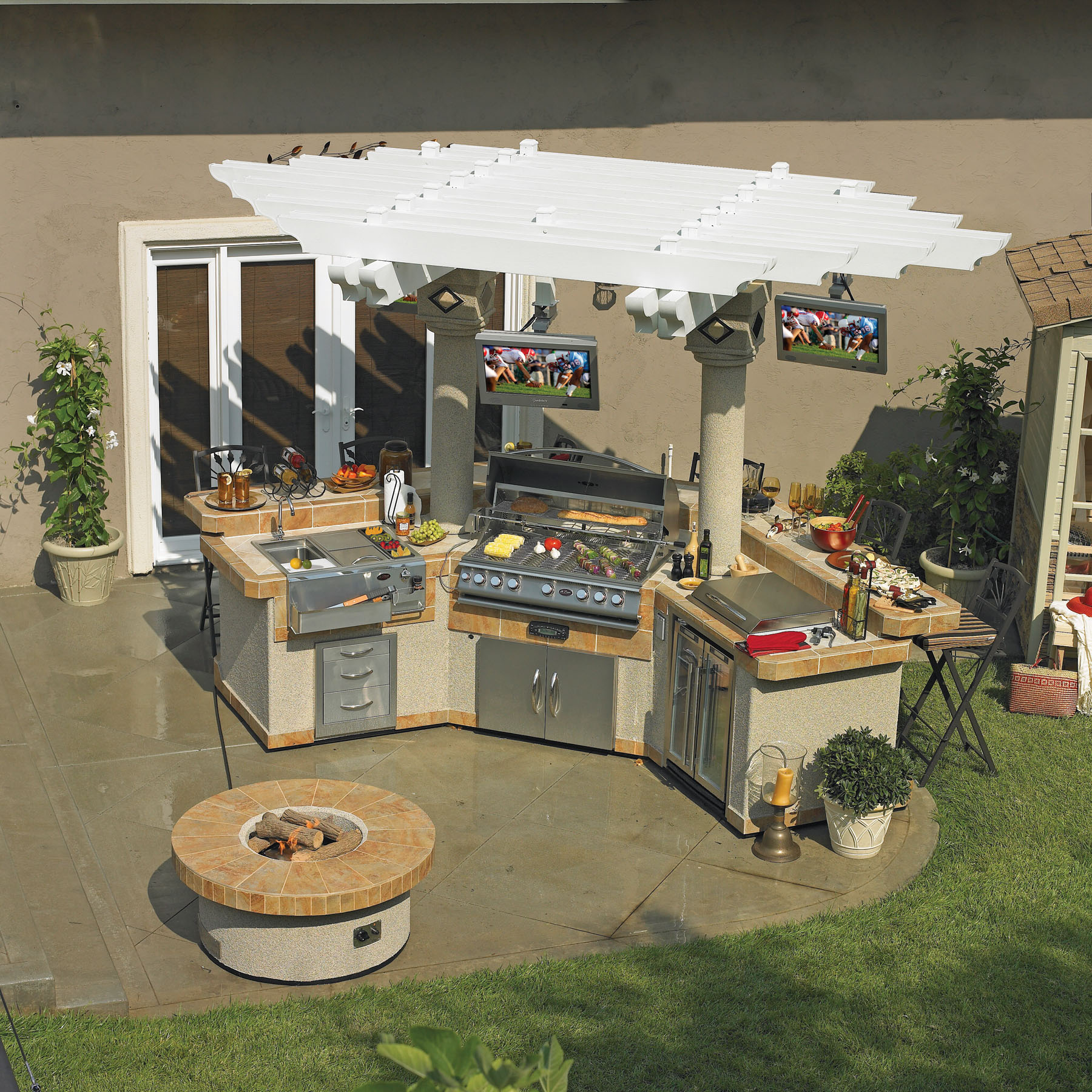 Gpv3100 outdoor kitchen for Outdoor kitchen equipment